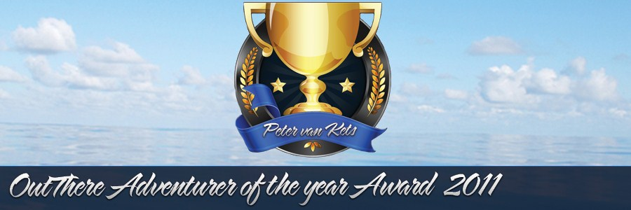Peter wins OutThere Adventurer of the Year Award